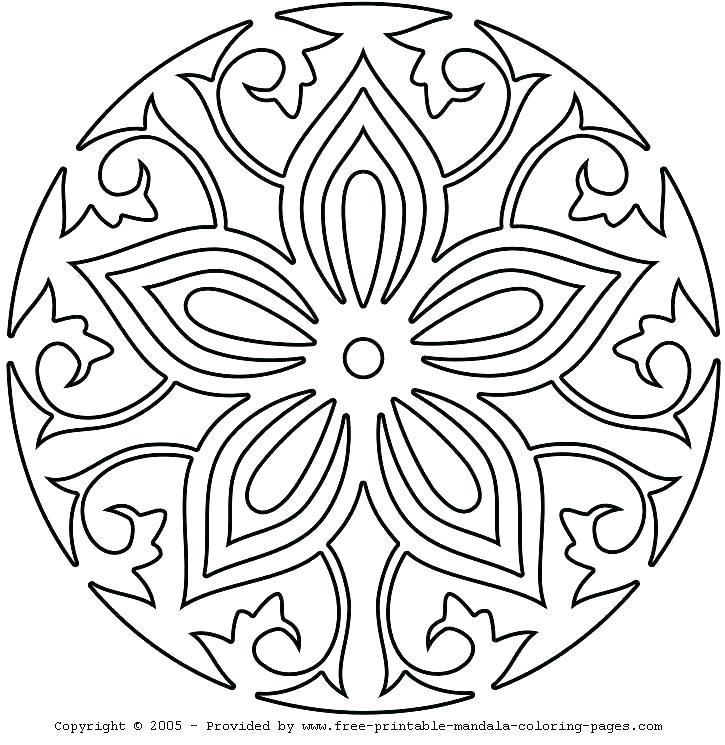 725x745 Abstract Coloring Pictures Free Printable Abstract Coloring Pages