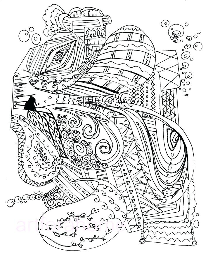 736x920 Abstract Printable Coloring Pages Abstract Art Printable Coloring