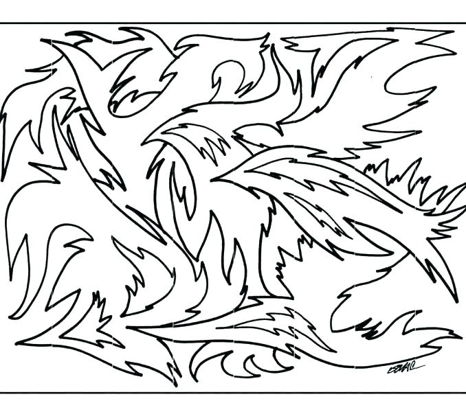678x600 Art Coloring Page Starry Night Coloring Page Art Therapy Coloring