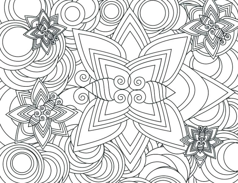 768x593 Free Abstract Coloring Pages Art Printable On Detailed Coloring