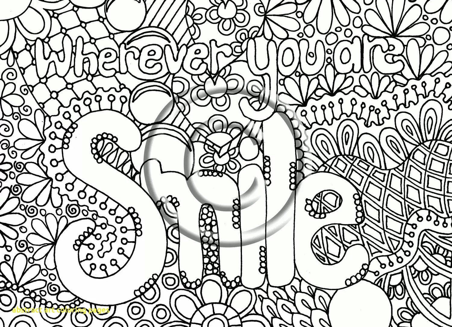 1500x1087 Abstract Art Coloring Pages With Coloring Pages Abstract Art