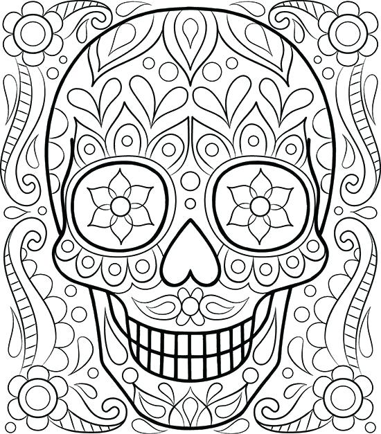 550x627 Free Printable Coloring Pages Free Printable Coloring Pages Adults