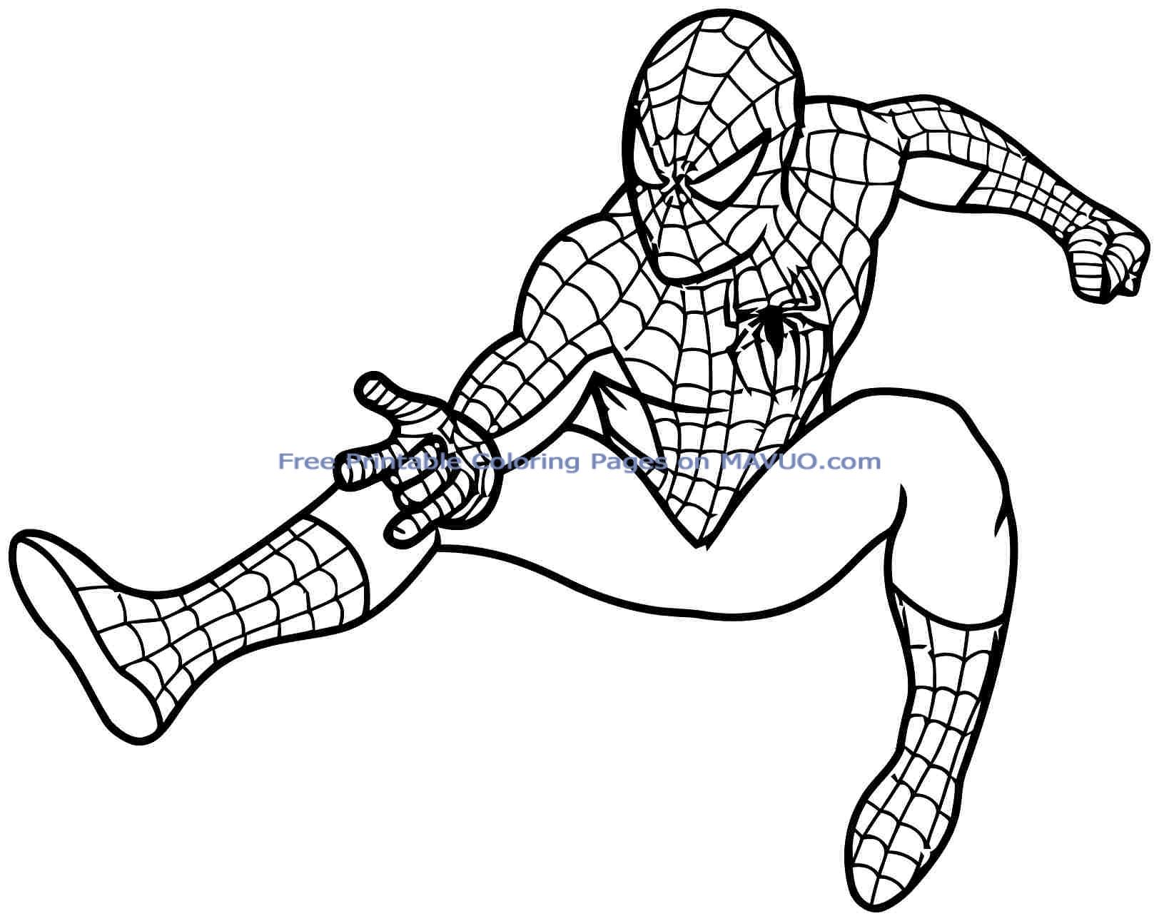 1624x1291 Superhero Coloring Pages For Kids Printable Superhero Coloring