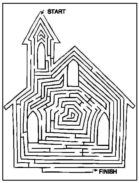 482x632 Find Your Way Through The Church Maze