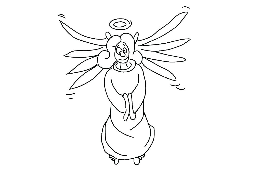 1024x721 Angel Wings Coloring Pages Angel Coloring Pages Printable Angel