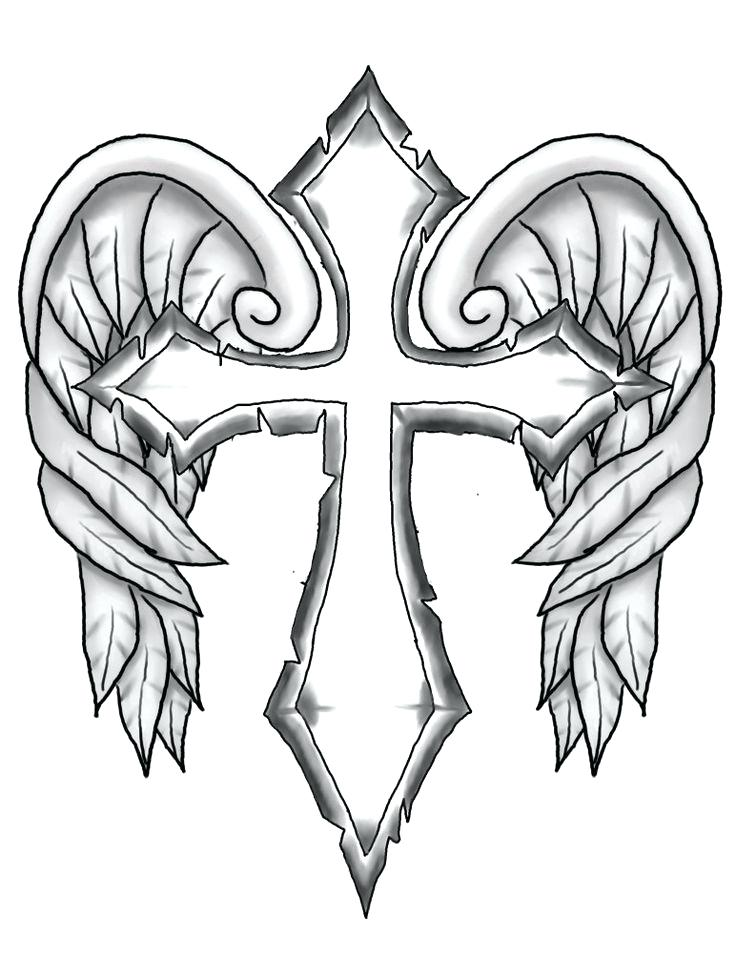 736x976 Angel Wings Coloring Pages Angel Wings Color Pages High Quality