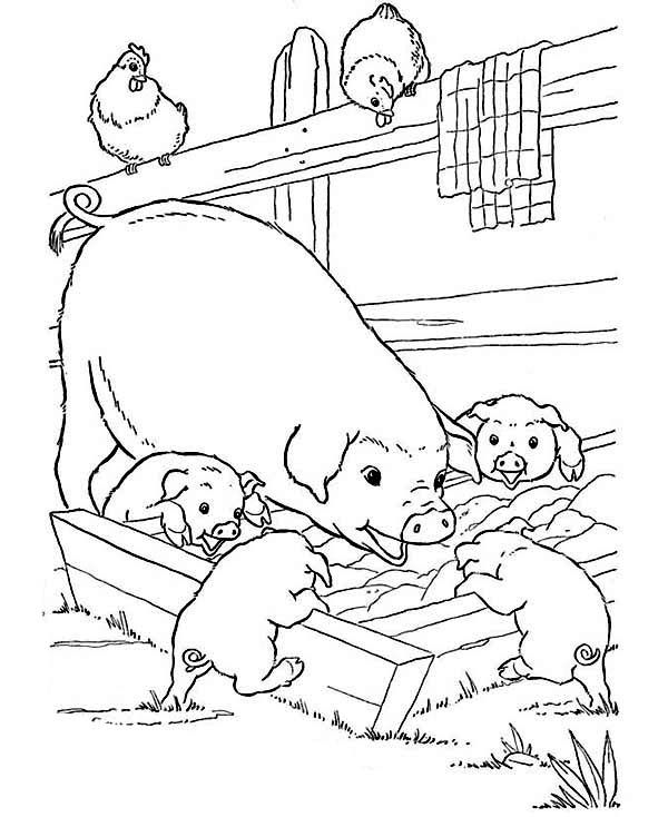 600x734 Coloring Pages For Children Is A Wonderful Activity That