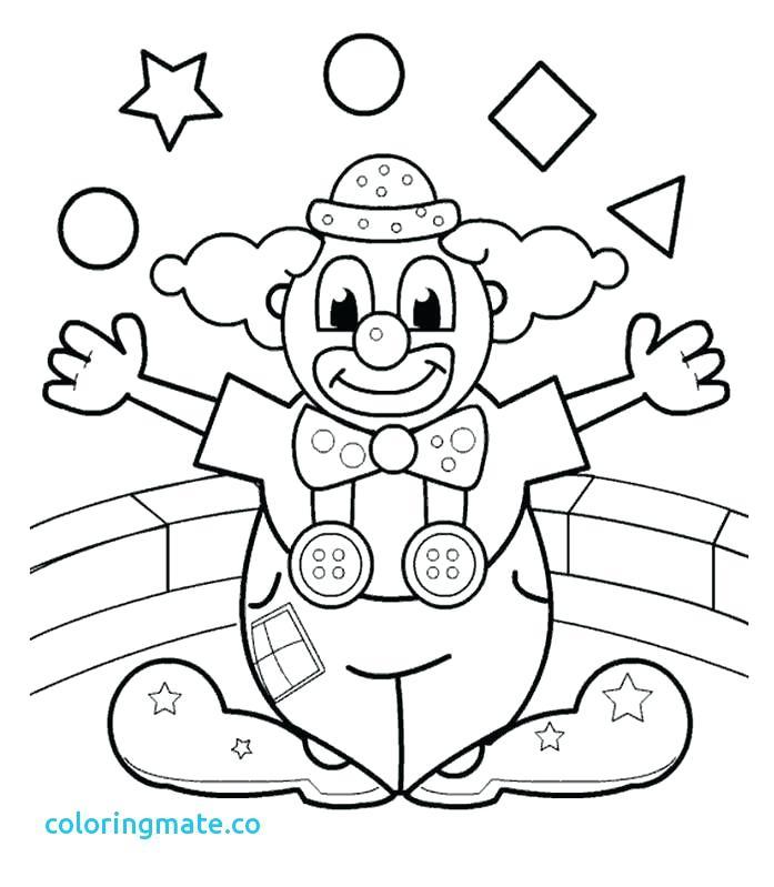 697x799 Circus Coloring Pages Circus Coloring Pages Awesome Clown Coloring