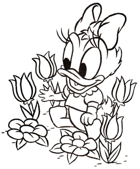 Coloring Pages Baby Disney