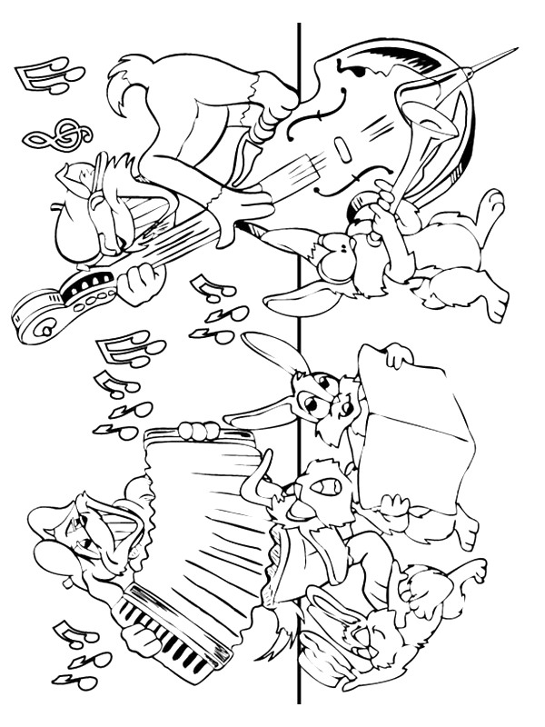 600x800 Kids N Coloring Pages Of Musical Instruments