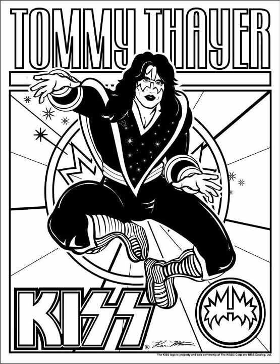 555x720 Divine Kiss Band Coloring Pages Colouring For Funny Marching Band
