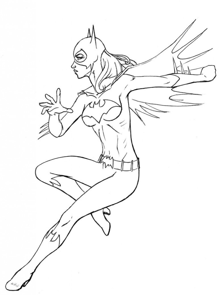 The Best Free Batgirl Coloring Page Images Download From 266 Free