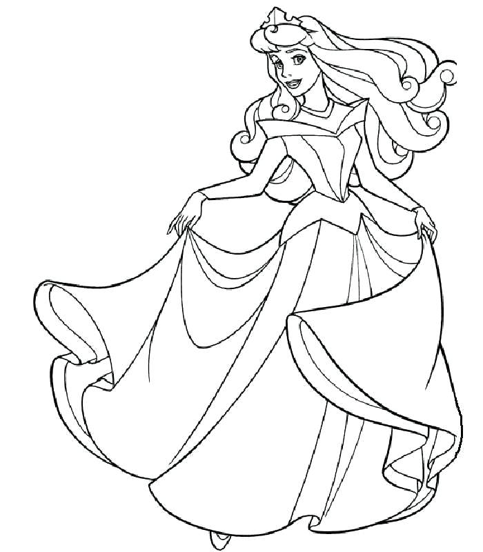 700x800 Sleeping Beauty Coloring Page Sleeping Beauty Coloring Page Free