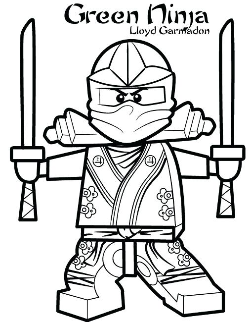 510x650 Coloring Pages Of The Green Ninja Superhero Black Ninja Coloring