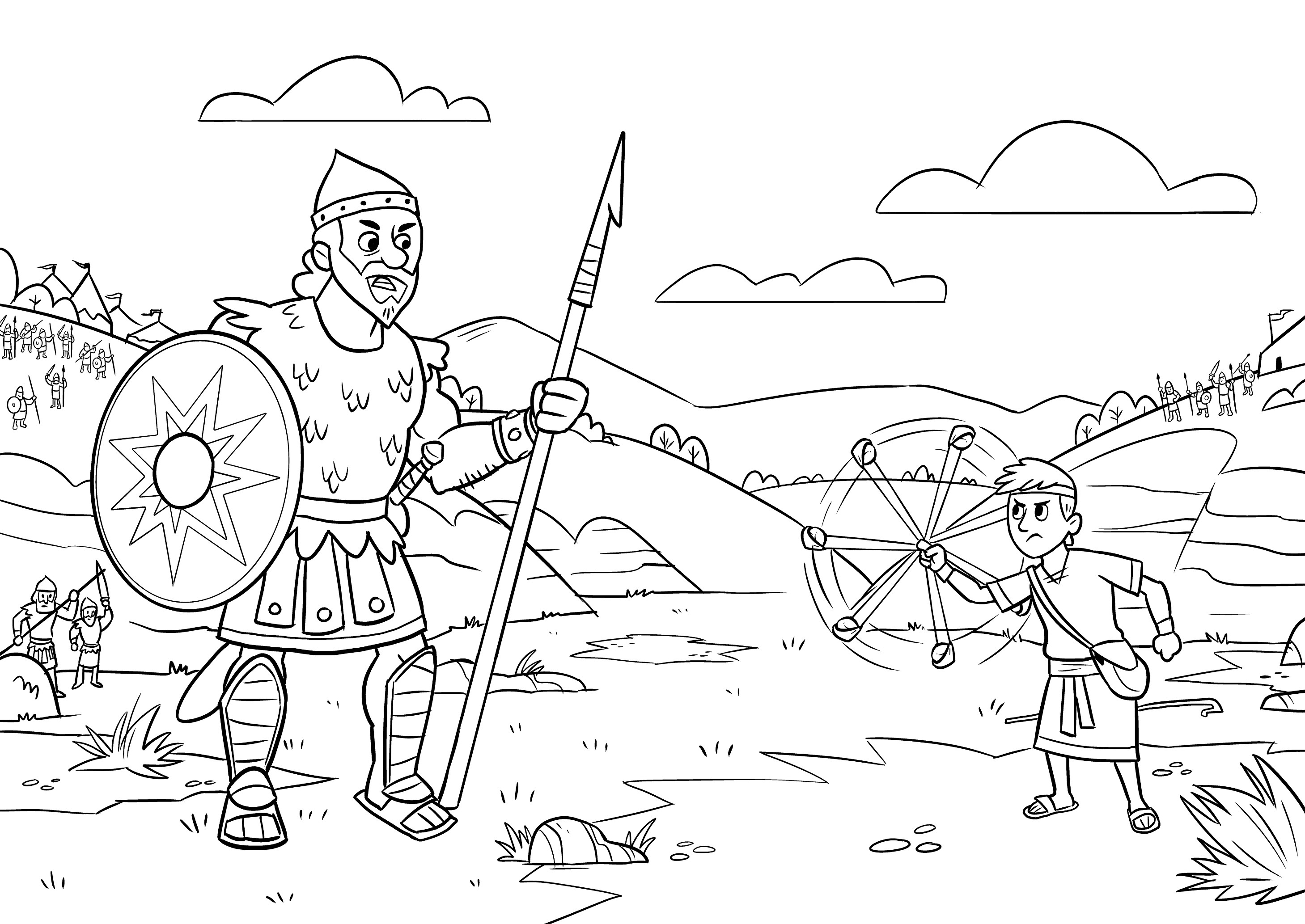 2918x2067 Best No David Coloring Pages Top Gallery Ideas No David