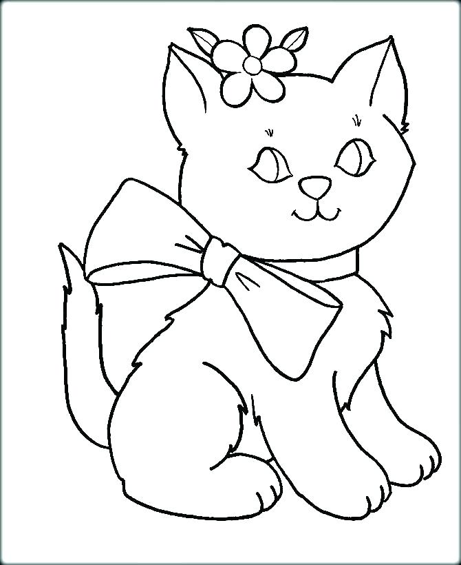 670x820 Free Coloring Pages Cats Kittens Realistic Cat Black Grumpy
