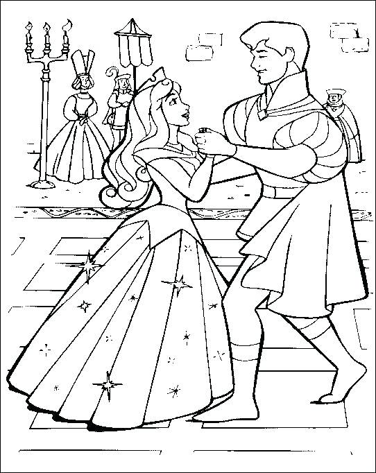 542x682 Aurora Coloring Page Blog Blog Sleeping Beauty Coloring Page