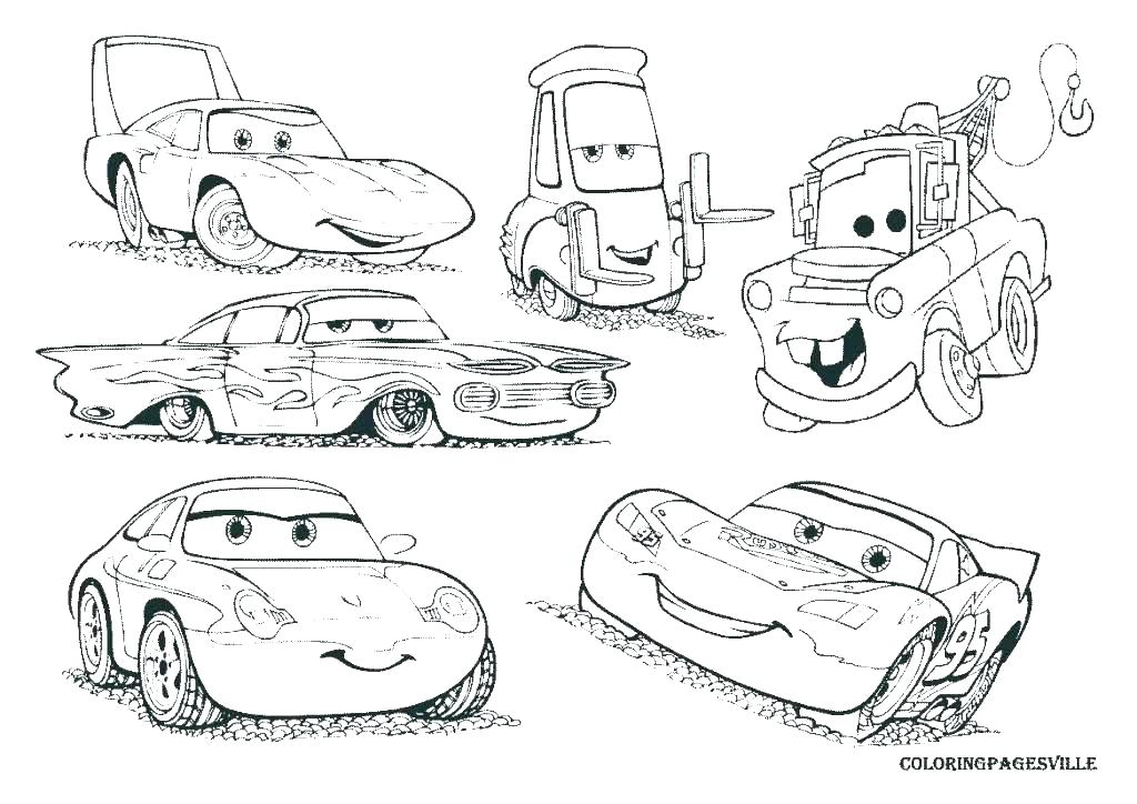 1024x724 Coloring Pages To Print Lightning Coloring Pages Cars Page