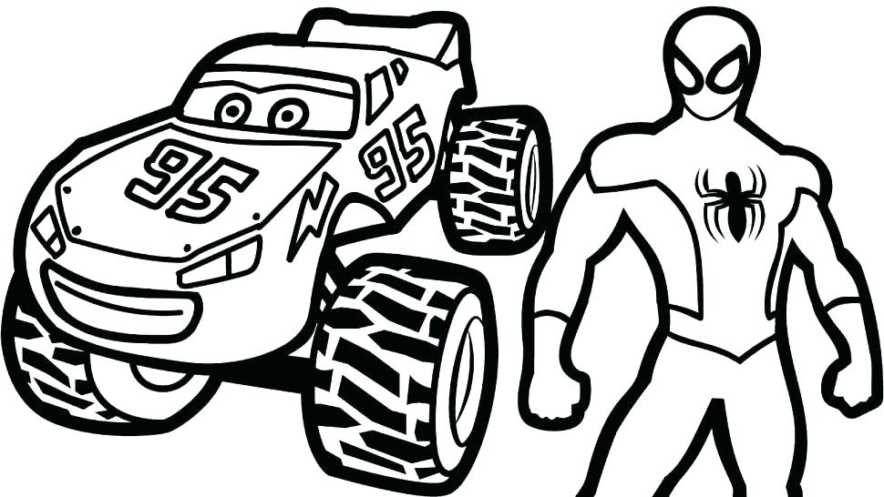 970x546 Lightning Mcqueen Coloring Page Pages Cars