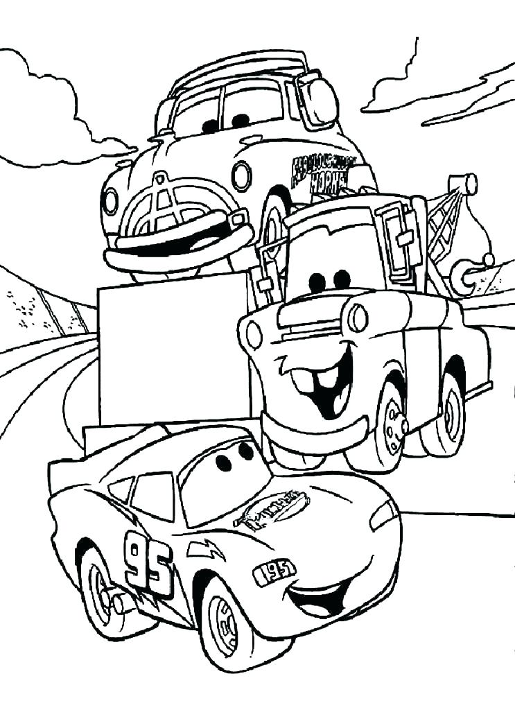 743x1024 Printable Coloring Pages Cars Coloring Pages Cars Lightning