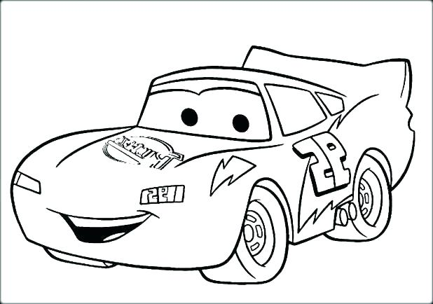 618x434 Printable Coloring Pages Cars Lightning Printable Coloring Pages