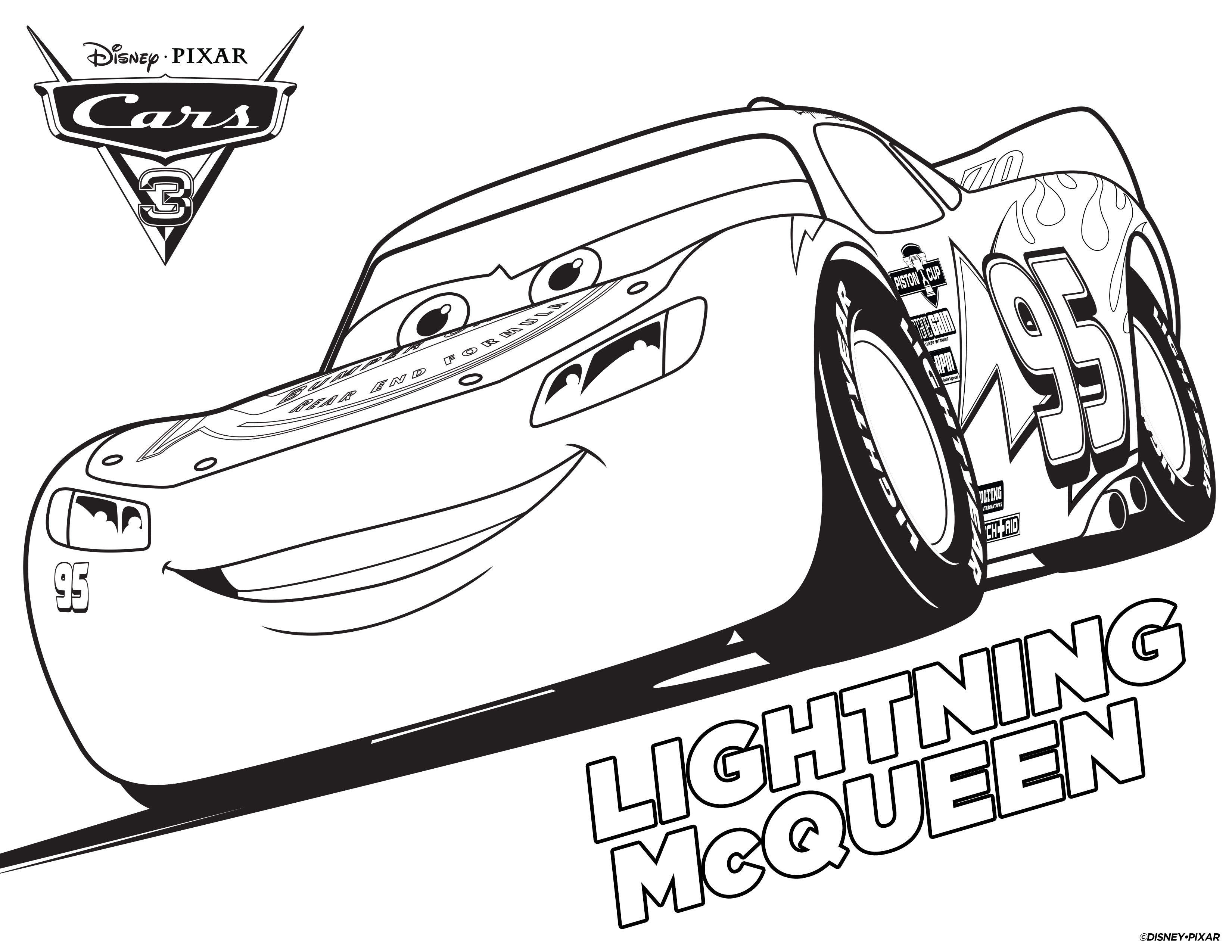 3300x2550 Cars Coloring Pages Free Printable Sheets For Of Lightning