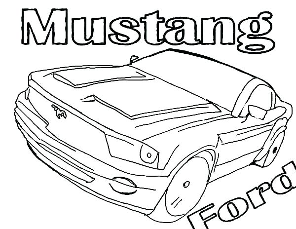600x464 Mustang Coloring Marvelous Ford Mustang Coloring Pages Mustang Car