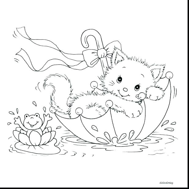 618x618 Coloring Pages Kittens Coloring Pages Cats Packed With Free