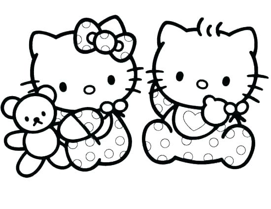 550x424 Kitties Coloring Pages Kittens Coloring Pages Kitten Coloring Page