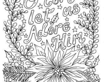 christmas coloring sheets for adults - Colona.rsd7.org