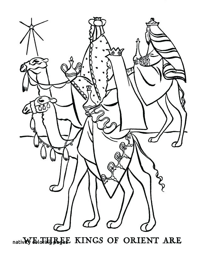 670x820 Nativity Coloring Pages Depiction Of Nativity Coloring Page