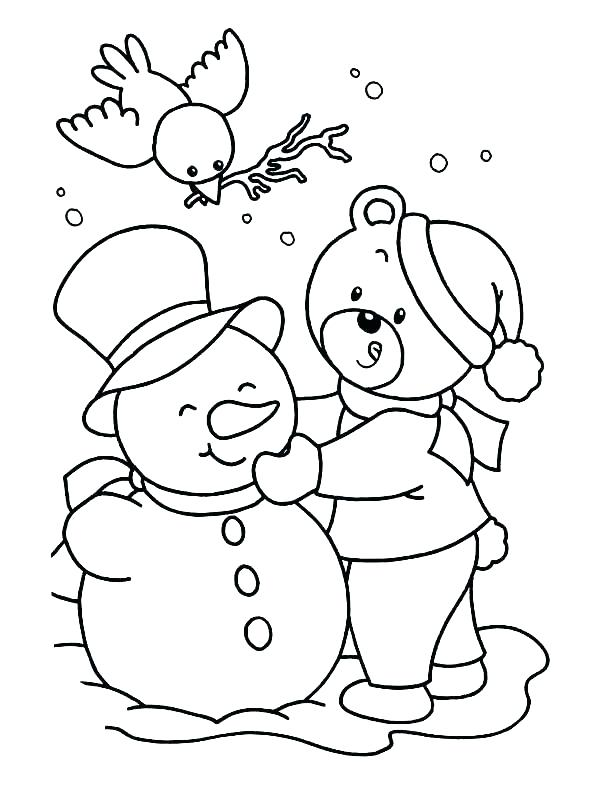 600x785 Snowman Coloring Pages Free Snowman Coloring Pages Free Snowman