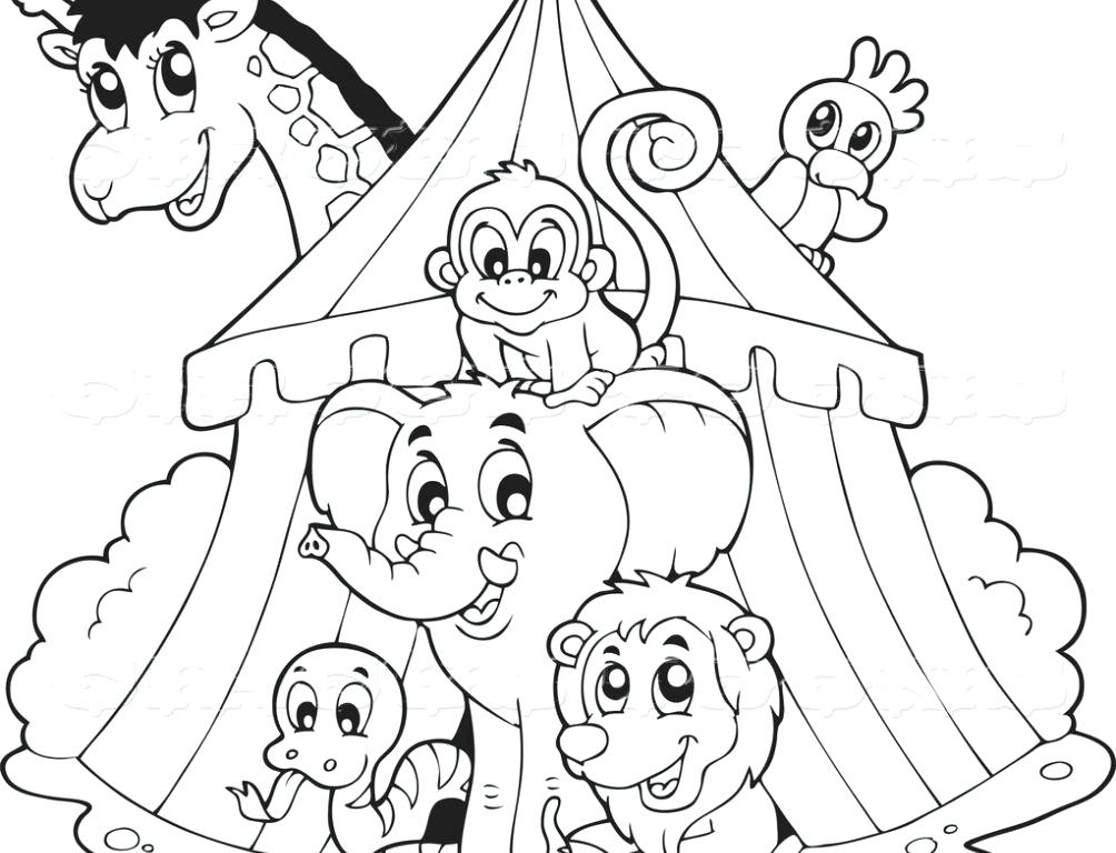 1004x768 Clown Coloring Pages Circus Clown Coloring Page Free Clown