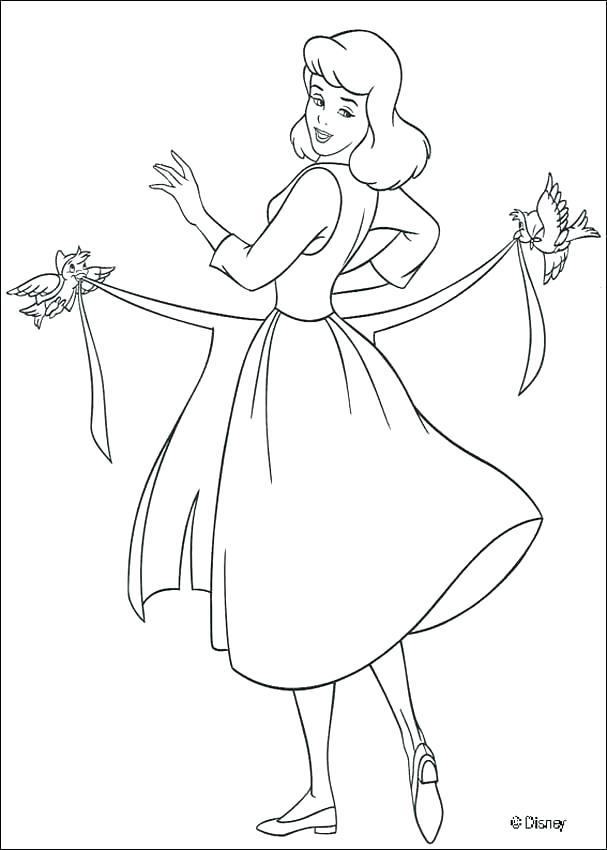 607x850 Dress Up Coloring Pages Dress Up Coloring Pages Cleaning The House