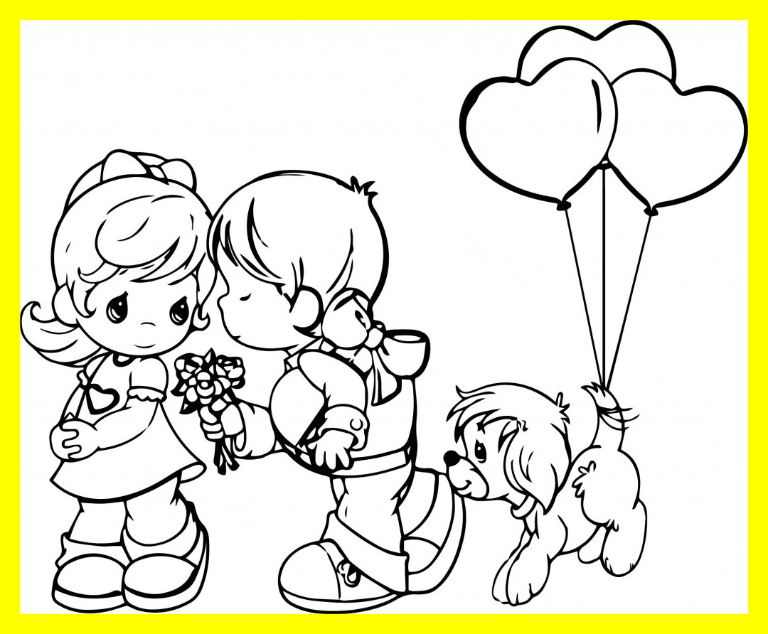 1080x892 Unbelievable Precious Moments Couples Coloring Pages Day Pics