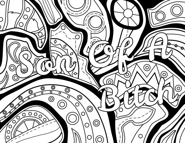 736x568 Best Swear Words Coloring Pages Images On Coloring