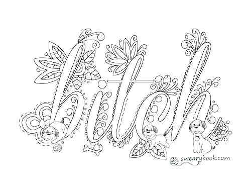 500x386 Words Coloring Pages Word Coloring Pages Swear Word Coloring Pages