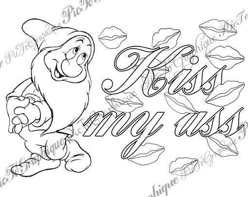 Coloring Pages Cuss Words At Getdrawings Free Download