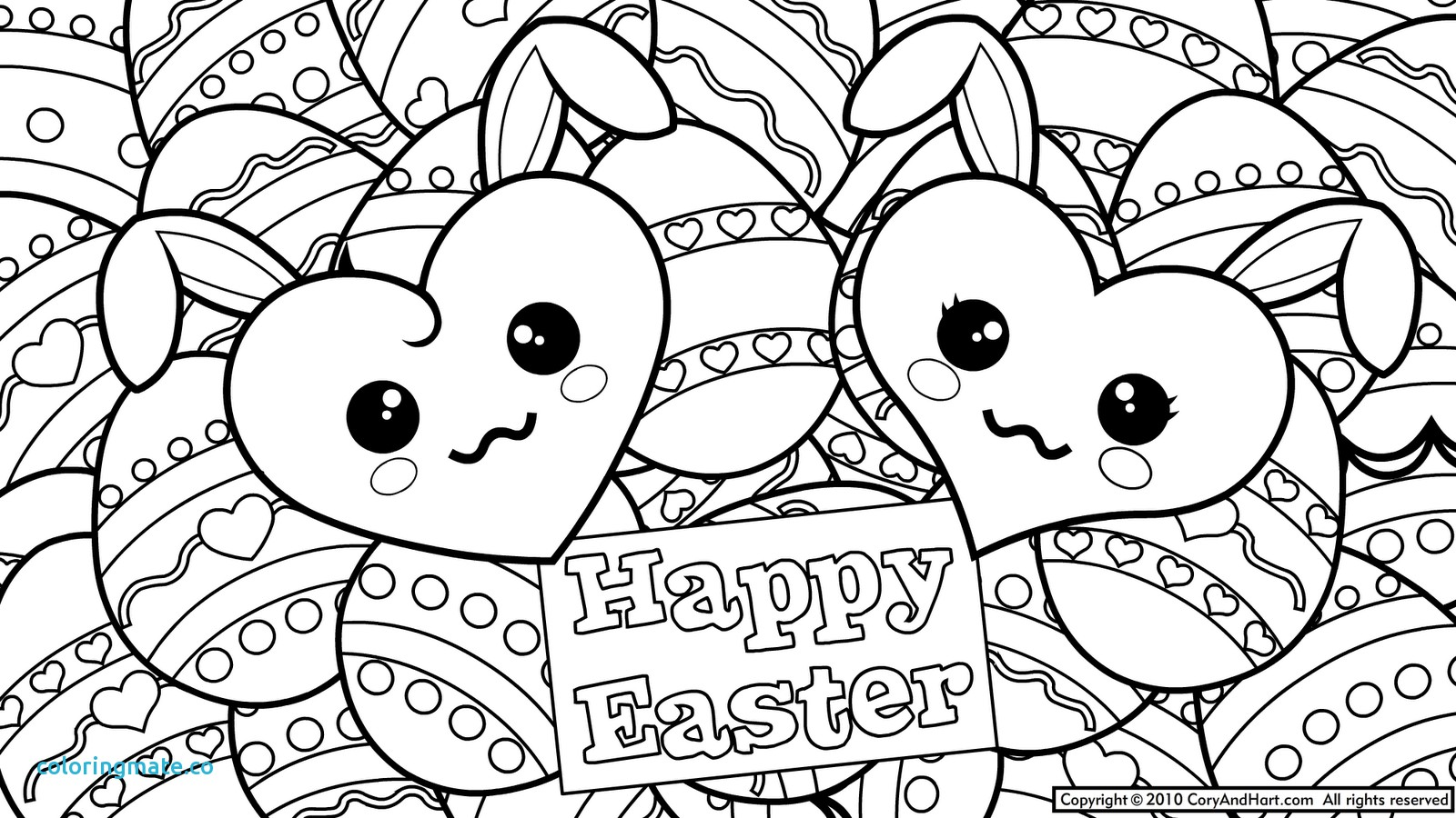 1600x900 Coloring Pages Cute Fresh Easter Gt New Disney