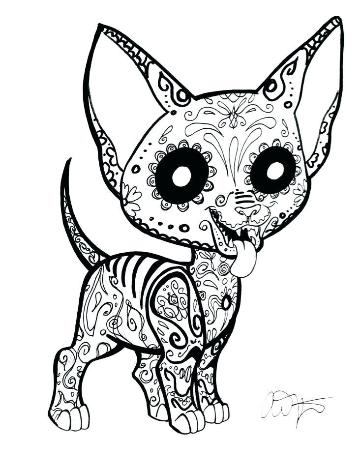 736x956 Day Of The Dead Coloring Pages Day Of The Dead Skull Coloring Page