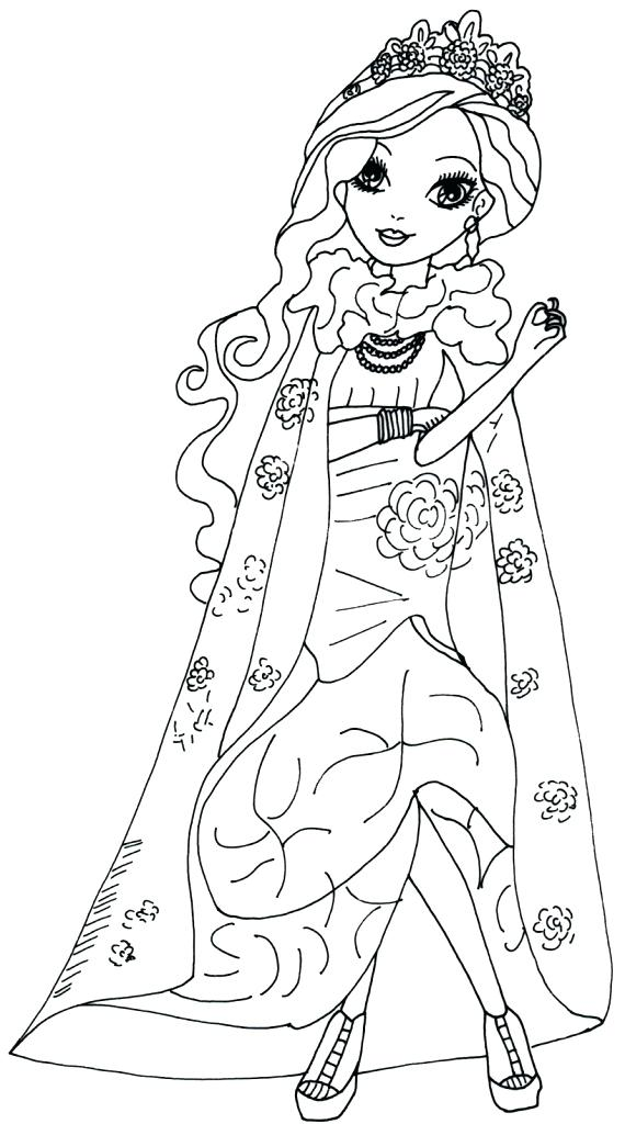 Coloring Pages Descendants at GetDrawings | Free download