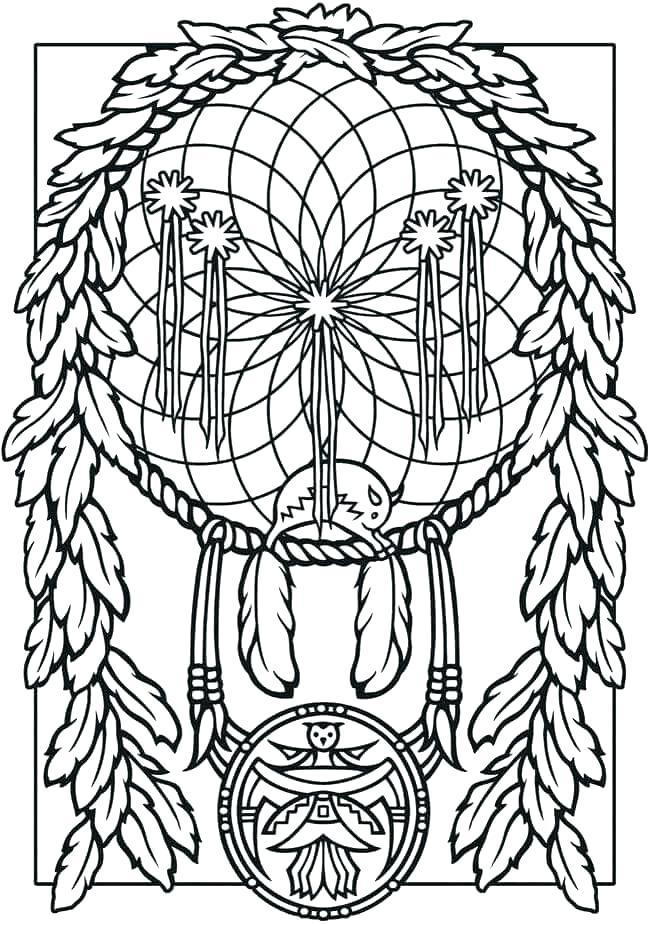 650x925 Dreamcatcher Coloring Pages Top Rated Coloring Pages Images