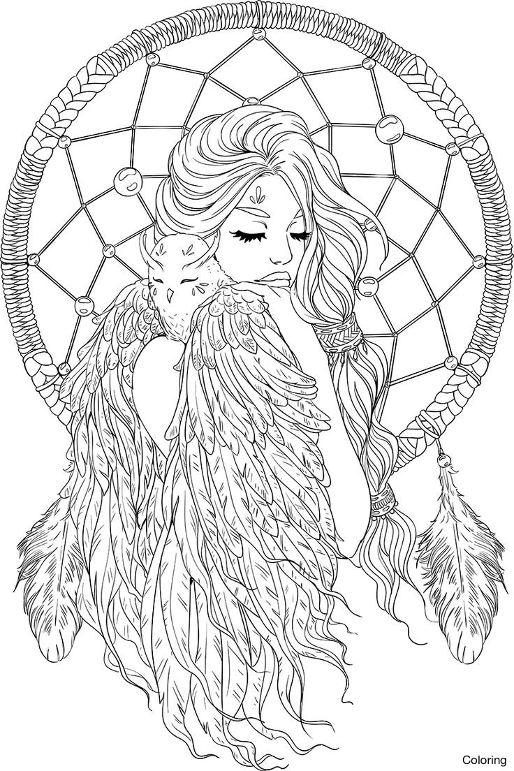 736x1104 Unique Paisley Hearts And Flowers Anti Stress Coloring Design Page