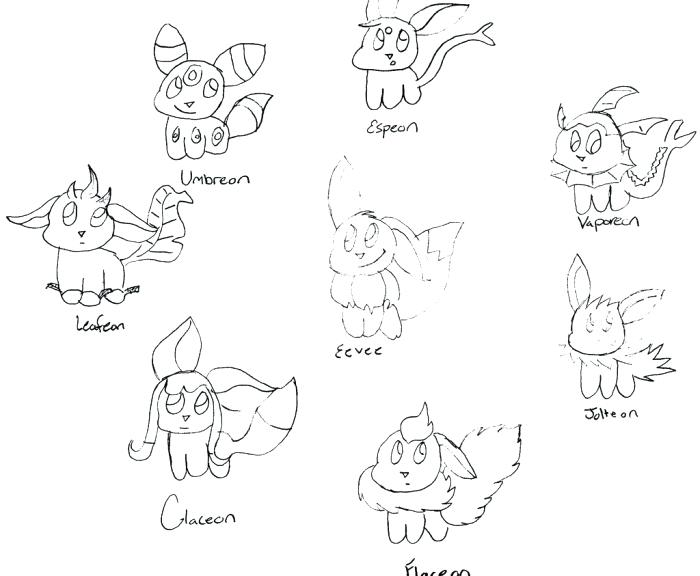 700x576 Eevee Pokemon Colouring Pages Pokemon Coloring Pages Eevee