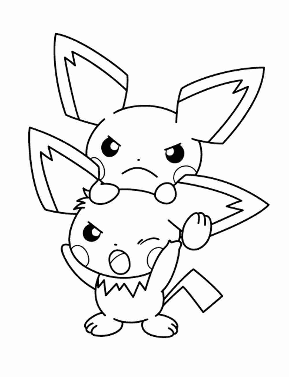 1000x1303 Pokemon Coloring Pages Eevee Bestappsforkids Com Endearing