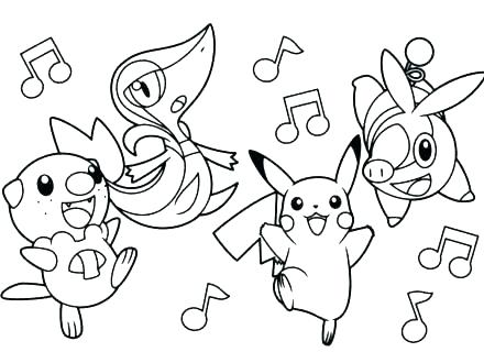 440x330 Printable Coloring Pages Pokemon Printable Coloring Pages All Pr