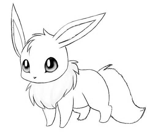 480x434 Tested Pokemon Coloring Pages Eevee