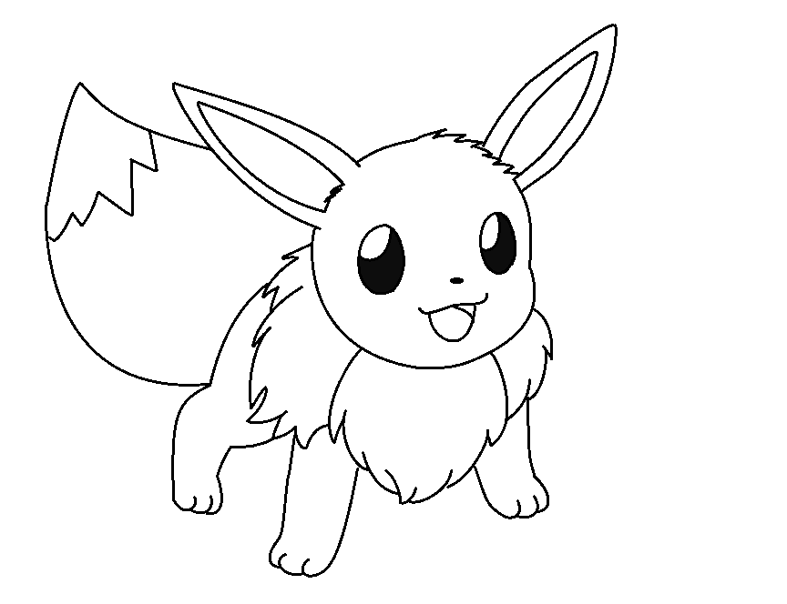864x664 Pokemon Coloring Pages Eevee Coloring Pages For Kids, Coloring