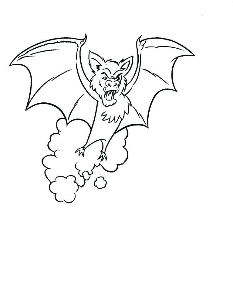 768x994 Bat Coloring Pages Preschool Copy Page F Printable Batman Bat