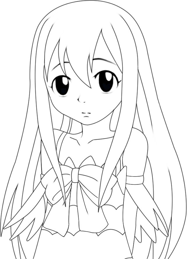 Coloring Pages Fairy Tail